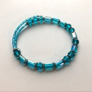 Jewelry - Handmade morse code beaded bracelet